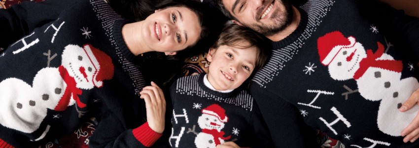 Christmas Sweaters for Adults and Children