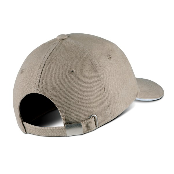 Kid's Cap with Contrasting Color on the Visor