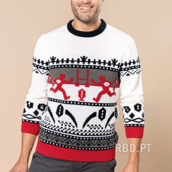 Christmas Sweater for Adult Rugby - Man and Woman