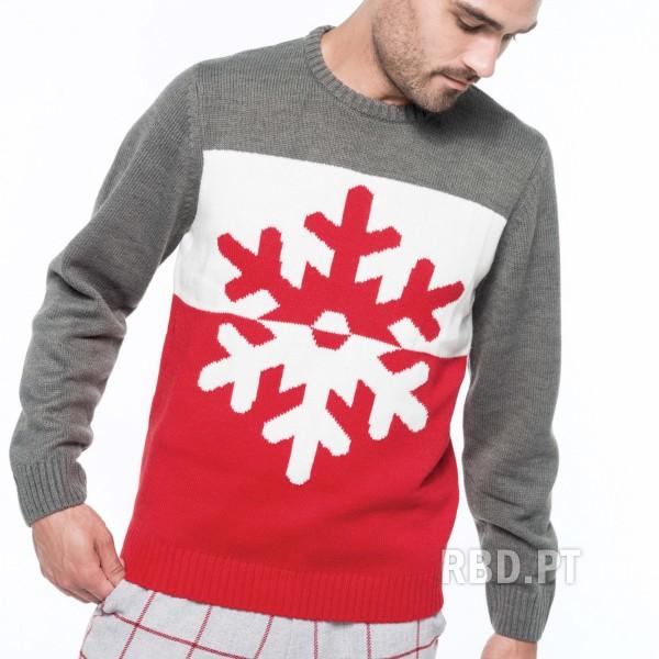 Adult Christmas Sweater Snowflake