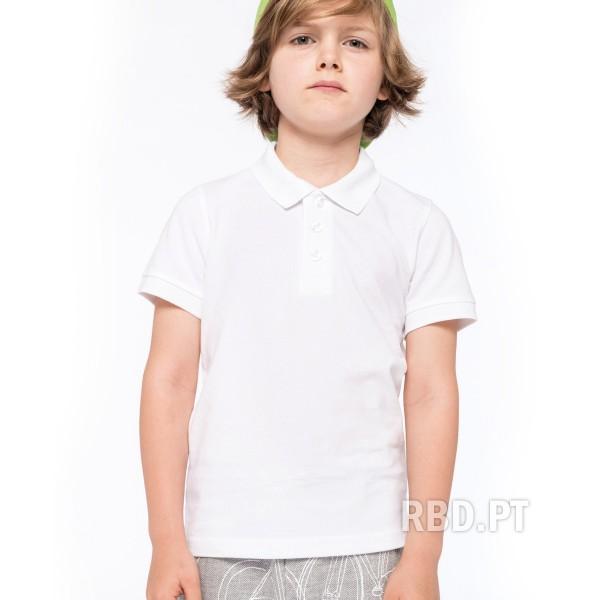 Kid's Short Sleeve Polo Shirt