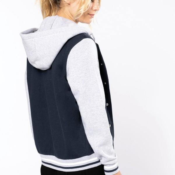 Unisex Teddy Jacket with Hood
