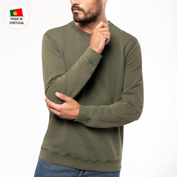 Unisex Sweatshirt with Round Neckline
