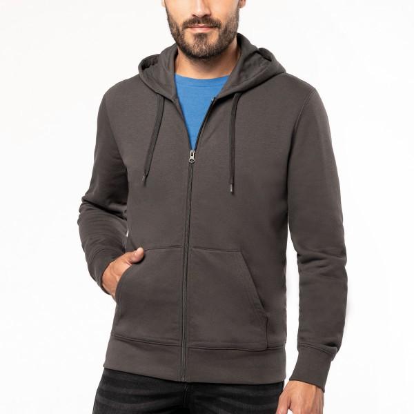Casaco Sweatshirt com Capuz Eco Responsável para Homem