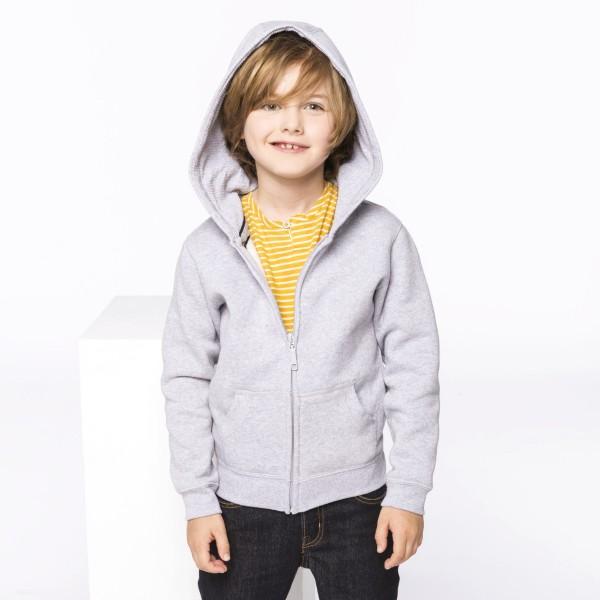 Kid's Zip Up Sweatshirt with Hood