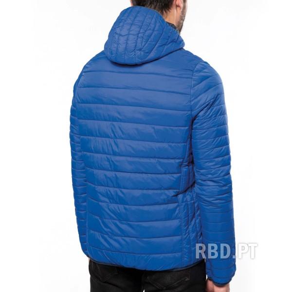 Men's Lightweight Padded Jacket with Hood
