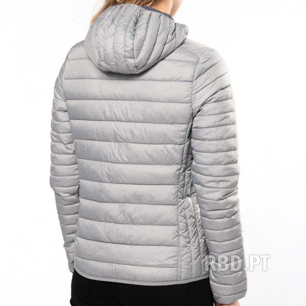 Women's Lightweight Padded Jacket with Hood