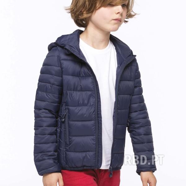 Kid's Lightweight Padded Jacket with Hood