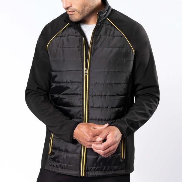 Men's Jacket Bi-material