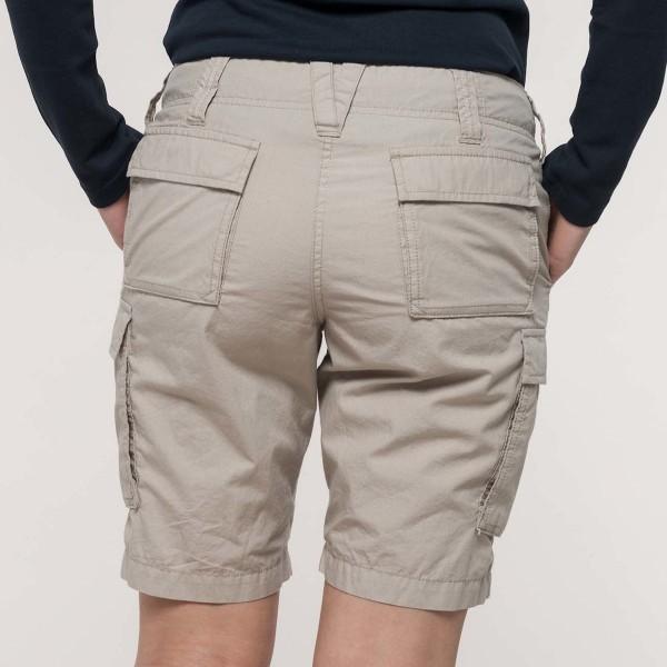 Women's Bermuda Shorts with Pockets