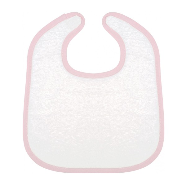 Baby Bib Terry knitted Cotton with Velcro