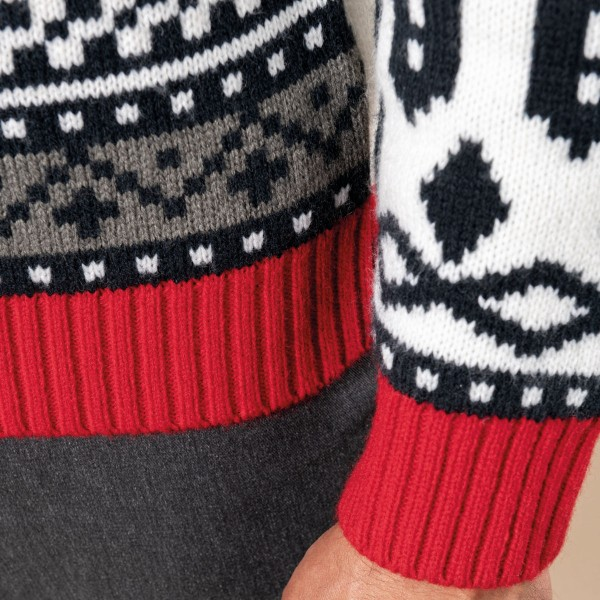 Adult Christmas Sweater Rugby