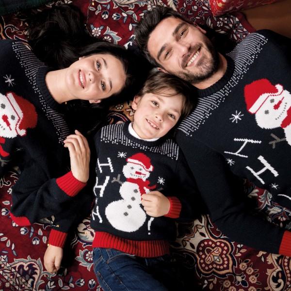 Kid's Christmas Sweater Ho Ho Ho