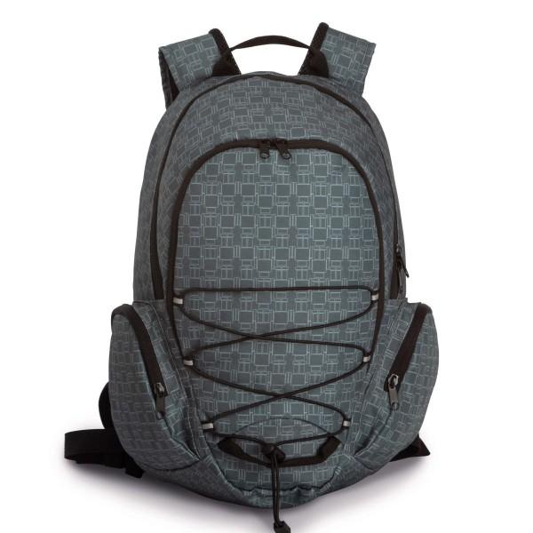 Mochila Outdoor com vários bolsos