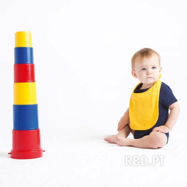 Baby Bib with Velcro Closure