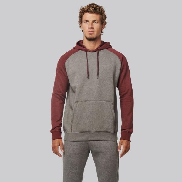 Men's Two-tone Hooded Sweatshirt