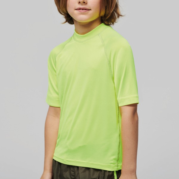 Kid's Short Sleeve Surf T-shirt with UV Protection